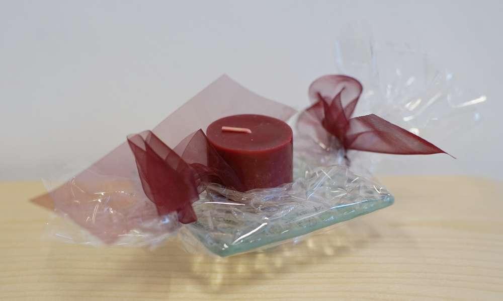 glasschale für kerzen